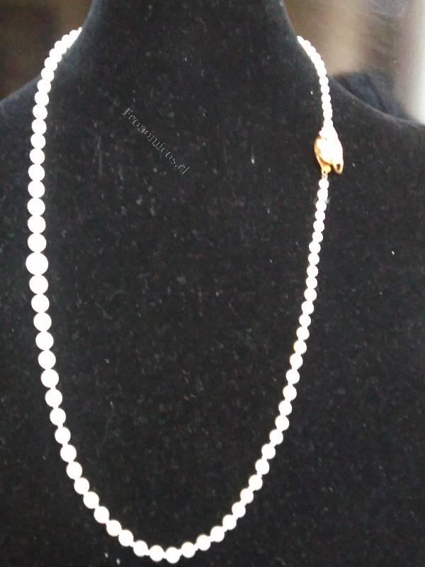 8e7cfdbe6c6e vendo collar de perlas cultivadas con broche de oro 2018-12-07 ...