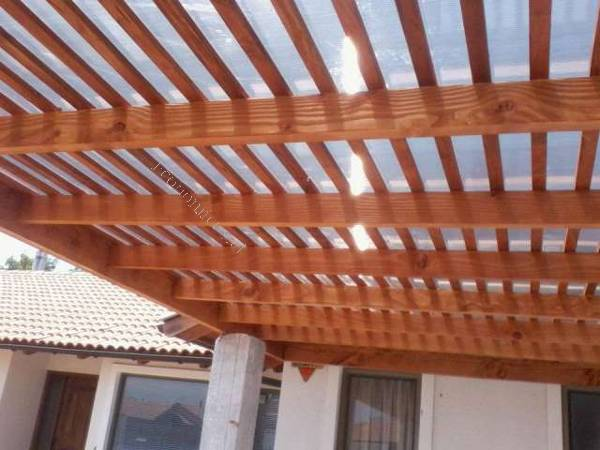 Cobertizo para automovil madera o fierro todo incluido for Cobertizos madera economicos