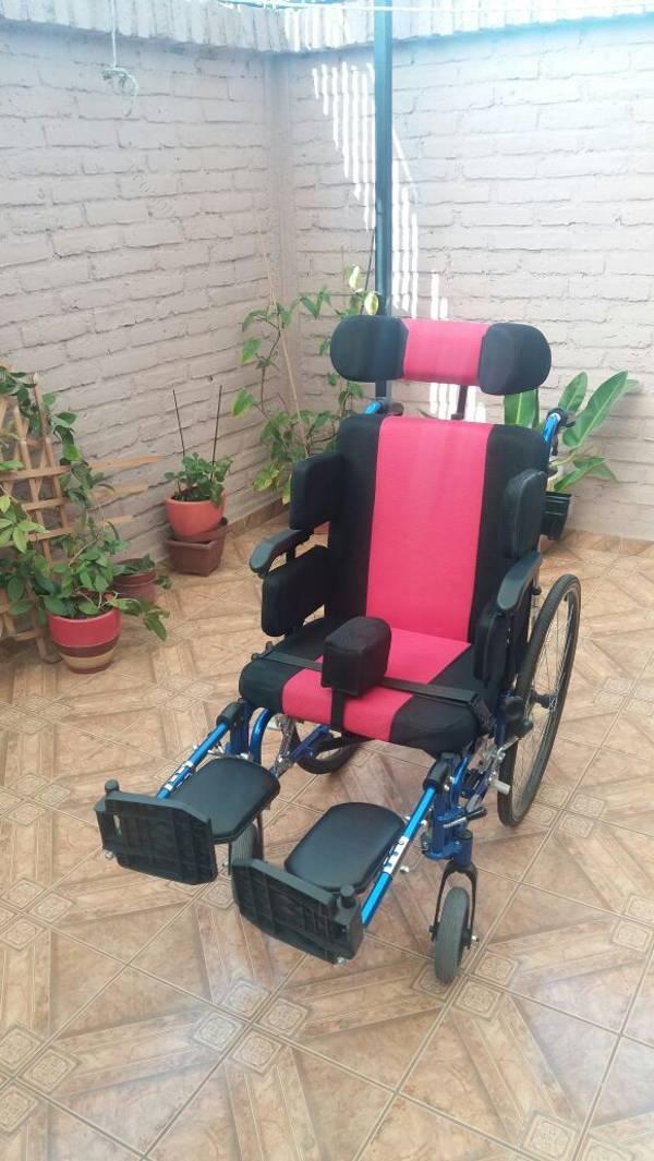 Silla de ruedas neurologica 2017 04 17 economicos de el for Silla neurologica