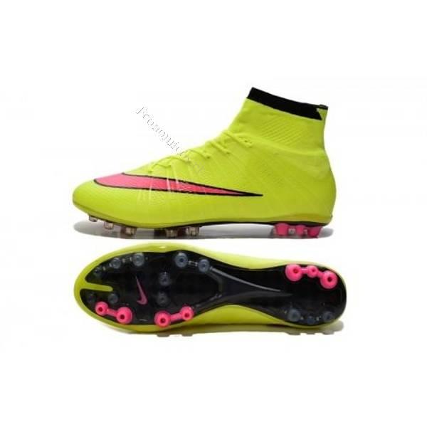 Vendo zapatos de fútbol Nike mercurial Superfly verde ag 2017-03-20 ... 4dcd286593231