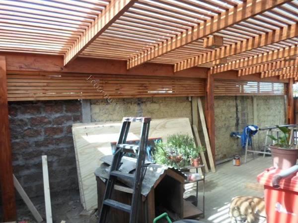 Cobertizos terrazas y quinchos 2016 01 28 en economicos de for Cobertizos para terrazas