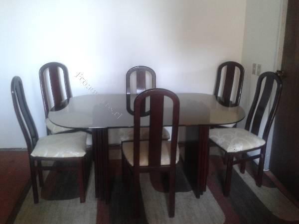 Vendo mesa comedor 6 sillas 2016 09 12 economicos de el for Vendo sillas comedor