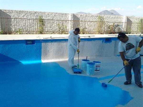 Pintado y reparacion de piscinas 2015 12 23 en economicos for Pintado de piscinas