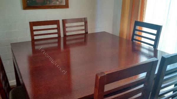 Comedor cuadrado 8 sillas 2015 12 20 en economicos de el for Comedor 8 personas cuadrado