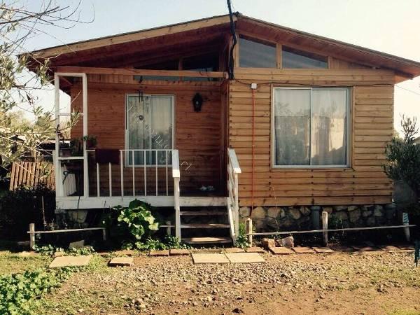 Vendo parcela con 2 casas de madera 2017 03 22 economicos for Vendo casa madera