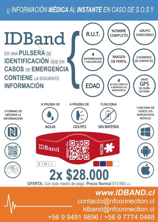 1863bf49bd3e IDBand La Pulsera de Identificación personal