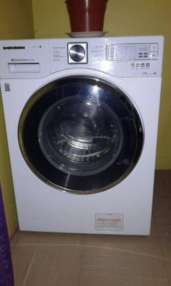 Vendo lavadora secadora daewood mueble home tv 2016 11 - Mueble lavadora secadora ...