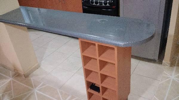 Mueble de cocina porta vinos y mes n 2015 08 17 en for Muebles de cocina vibbo