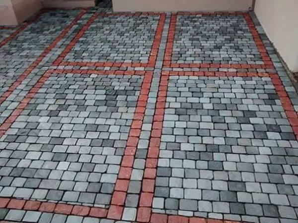 Adoquin de piedra piedra laja adoquin piletas muro de for Adoquines de piedra precios