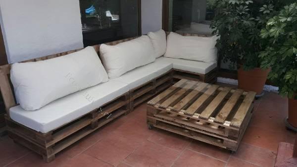 Living sofas terrazas y muebles pallet full 2017 06 25 for Muebles terraza economicos