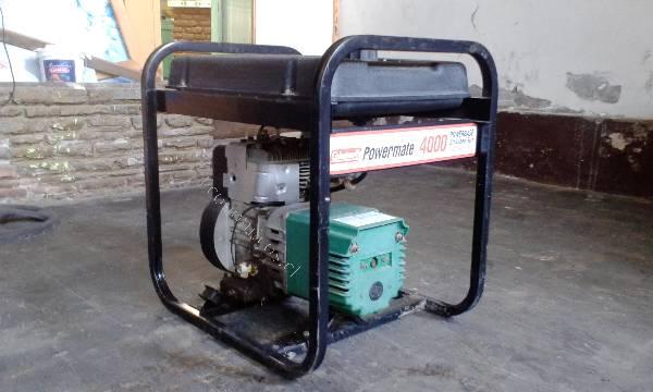 Generador Coleman Powermate 4000 watt / 8hp 2016-03-16