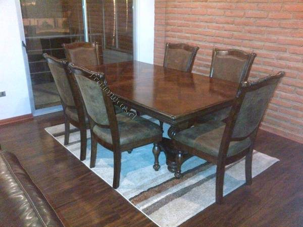 OFERTA Gran comedor Ashley Mantera 6 sillas 2 sitiales 2018 ...