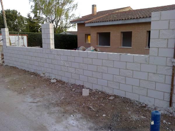 Construcciones de muros de bloques y concreto armado 2015 - Muro de bloques ...