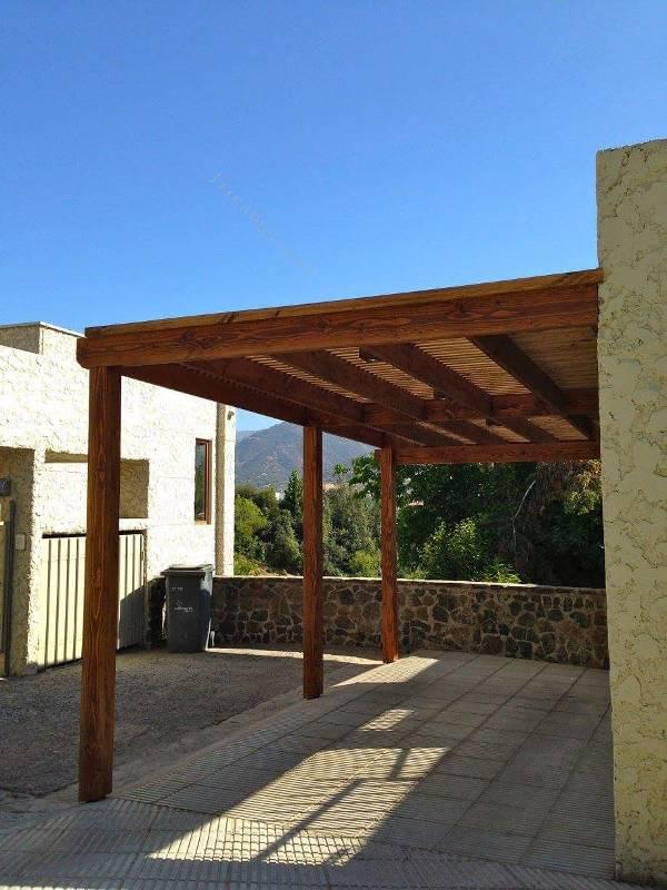 Terrazas pergolas quinchos y cobertizos 2015 12 14 for Cobertizos para terrazas