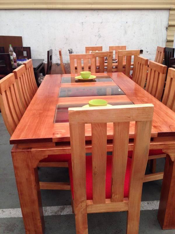 comedores de pino distintas medidas de 4 a 12 sillas 2016