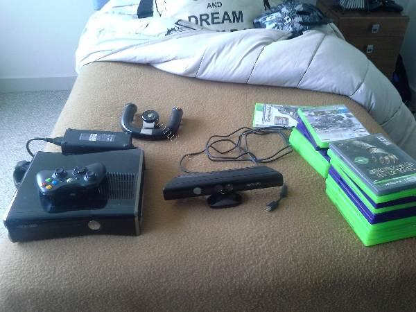Xbox 360 Kinect 19 Juegos 2 Controles 2015 11 08 En Economicos De El
