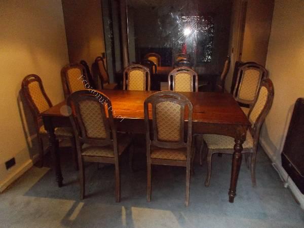 Mesa comedor con 8 sillas en madera de encino oferta final for Oferta mesa y sillas comedor