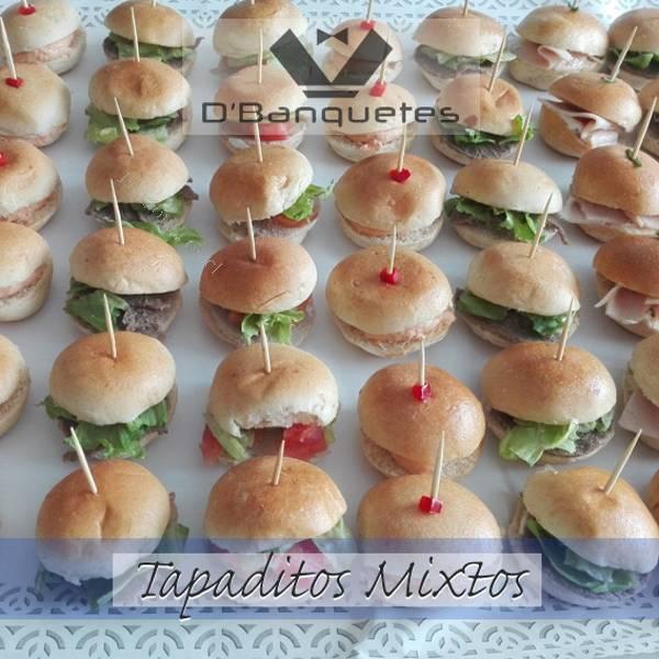 Canapes tapaditos empanadas coctail todo para tu evento - Variedad de canapes frios ...